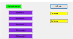 Lấy dữ liệu từ Data GridView chuyển vào TextBox (DataGridView to